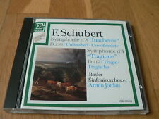 "Armin Jordan - Schubert : Symphonies Nos. 4 & 8 ""Inachevée"" - CD Erato W.Germany"