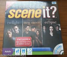 """THE Twilight Saga"", Scene It?, DVD  Game Deluxe ed Twilight, New Moon, Eclipse"