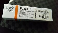 fucidin ointment tube of 15gr for treatment of the face and scalp infection