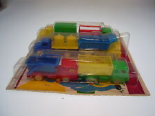 """GSLKW NEW PENNY TOYS  """"SET 6 LKW"""", GÖSO MADE IN WESTERN GERMANY , NEW ON CARD !"""