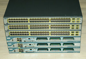 Cisco CCNA CCNP CCIE Basic Lab Kit with 3x 2801 WS-C3750-48 L3 Guiding