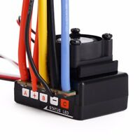 80A ESC Sensored/Sensorless Brushless RC Part Accessory for 1:10 Scale Car
