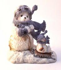 Cherished Teddies Nora Snowbear Pulling Sled Figurine 848581 NIB