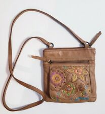 Fossil vintage Small Brown Leather Crossbody Bag SL2577