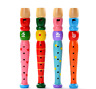 Latest Colorful Wooden Trumpet Buglet Hooter Bugle Educational Toy Gift For Kids