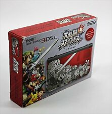 USED Nintendo 3DS LL Super Smash Bros. Edition RED-S-RBAA brothers complete F/S