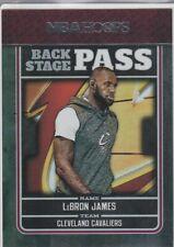 LEBRON JAMES Back Stage Pass INSERT BASKETBALL CARD King NBA Hopps Cavs FOIL LE