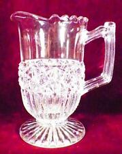 Tremont Creamer Early American Pattern Glass Richards Hartley Flint #37 1880