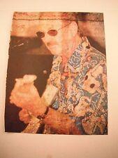 James Burton Guitarist 12x9 Coffee Table Book Photo Page