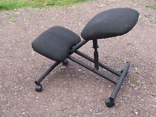 ergonomic stool, metal framed,   330319