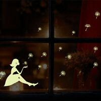 Wandtattoo Sterne Fee Engel Mond Wandsticker Aufkleber Wandaufkleber Sticker
