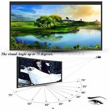 "New Portable 100"" Inch 16:9 Fabric Matte Projector Projection Screen Home Cinema"