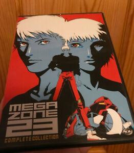 Megazone 23 OVA OAV Complete 3 disc Collection DVD ADV Films Anime 2007 OOP