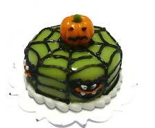 Halloween Cake Spiderweb Dollhouse Miniatures Food Deco Holiday Season 17