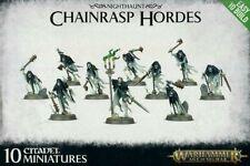 G.W Warhammer Fb Age Of Sigmar Nighthaunt 10 Chainrasp Hordes Unboxed Easy Build