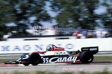 Brian Henton Toleman TG181 Belgian Grand Prix 1981 Photograph