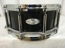 "Pearl Free Floating 14"" Dia. X 6.5"" Deep Snare Drum/Maple Shell/Black Pearl/#331"