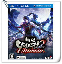PSV PLAYSTATION VITA Games Musou Orochi 2 Ultimate 無雙 蛇魔 中文版 Action Koei Tecmo