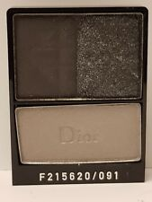 CHRISTIAN DIOR 3 COLOURS EYESHADOW SMOKY BLACK 091 - READ DETAILS