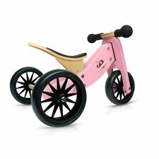 Kinderfeets 2 in 1 Tiny Tot Trike and Balance Bike- Pink
