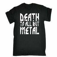 Death To All But Metal T-SHIRT Tee Music Rock Band Heavy Funny birthday gift