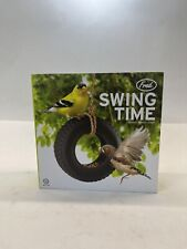 New listing Swing Time Bird Feeder by Fred Black Ceramic Tire with RopeBrand New