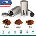 Hand Manual Stainless Steel Coffee Grinder Detachable Machine Portable w/ Crank