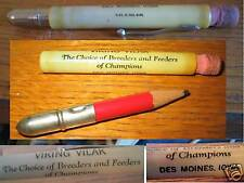 Bullet Pencil Viking Vilak Des Moines Iowa B & B