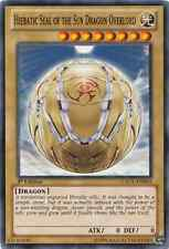 3 x Hieratic Seal of the Sun Dragon Overlord (GAOV-EN002)-Common-N. Mint-1st E.
