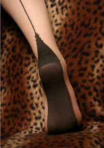 Cuban Heel Seamed Stockings & Hold-Ups Choice of colour