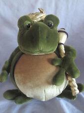 "Manhattan Toy Co. Royal Renaissance 9"" Plush Frog ""Prince William"""