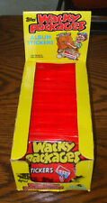 VTG Topps 1980s RETRO WACKY PACKAGES~New Pack~5 Trading Stickers Lot~80s~NIP