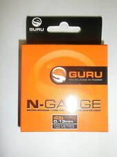 New listing Guru N-Gauge hooklength 12lb 0.25mm 100m Fishing tackle