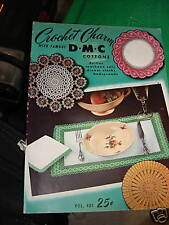 1950 DMC COTTON CROCHET CHARM Assorted Patterns