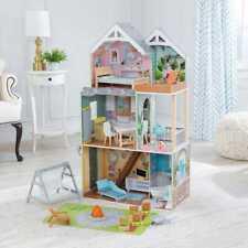 KidKraft Hallie Play Puppenhaus Holz Puppenhaus Enthält Zubehör