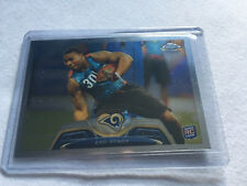 2013 Topps Chrome Football Zac Stacy St. Louis Rams rookie card #90