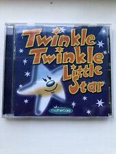 MOTHERCARE TWINKLE TWINKLE LITTLE STAR NURSERY RHYME CD