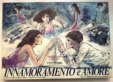Innamoramento e Amore - Illustrazioni Crepax - Vintage anni '80 Mondadori Giochi