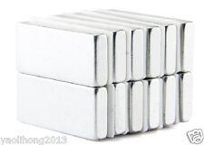 5pcs N50 Strong Block Cuboid Bar Magnets 30mm x 10mm x 4mm Rare Earth Neodymium