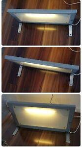 Ikea Light Up Glass Shelf
