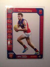 2015 Teamcoach Team Coach Prize Card Pearce Hanley Brisbane Lions