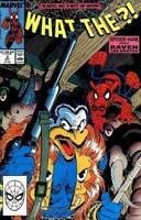What The ?! #3  Marvel Comic Book Spider-ham 1988 Kraven VF/NM