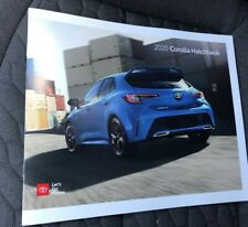 2020 TOYOTA COROLLA HATCHBACK 24-page Original Sales Brochure