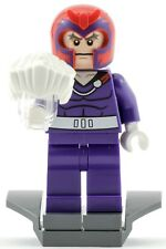 Genuine Lego Marvel Super Heroes Magneto Minifigure from 76022 Retired X-men Set