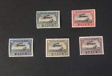 China 1921 C1-C5  Air Mail stamp set of 5 MH OG fresh