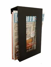 Contemporary Wall Mounted Magazine Newspaper Storage Rack in Black