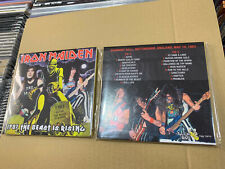 IRON MAIDEN 2 CD 1983 THE BEAST IS RISING