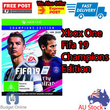 Sealed Xbox One Fifa 19 Champions Edition EA Sports Console Soccer Game
