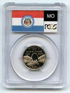 2003 S 25C Clad Missouri Quarter PCGS PR70DCAM