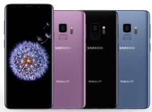Samsung Galaxy S9 G960U 64GB/128GB GSM Factory Unlocked Smartphone AT&T T-Mobile
